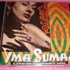 CDs de Música: YMA SUMAC / THE RUSSIAN TOUR / LIVE IN CONCERT 1961 / CD. Lote 52595625