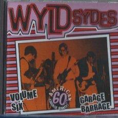 CDs de Música: WYLD SYDES CD VOL.6 UDA GARAGE ROCK -RARE, AUSTRALIA (COLECCION DESCATALOGADA)COMPRA MINIMA 15 EUR. Lote 52603497