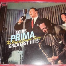 CDs de Música: LOUIS PRIMA / GREATEST HITS / THE KING OF JUMPIN SWING / GRANDES ÉXITOS / THE BEST OF LO MEJOR DE CD. Lote 52628577