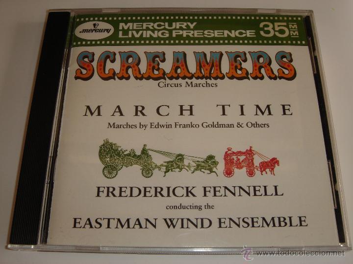 SCREAMERS / CIRCUS MARCHES / MÚSICA DE CIRCO / FREDERICK FENNELL / MERCURY LIVING PRESENCE / CD (Música - CD's Clásica, Ópera, Zarzuela y Marchas)