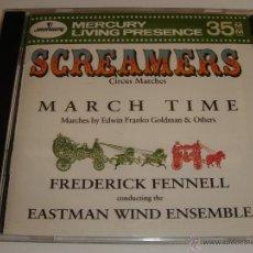 CDs de Música: SCREAMERS / CIRCUS MARCHES / MÚSICA DE CIRCO / FREDERICK FENNELL / MERCURY LIVING PRESENCE / CD. Lote 52632867