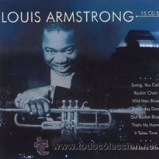 CDs de Música: LOUIS ARMSTRONG – LOUIS ARMSTRONG BOX DELUXE COMPLETO *****SEALED*****. Lote 52635022