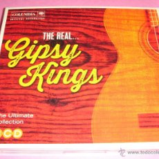 CDs de Música: GIPSY KINGS / THE REAL... / GRANDES ÉXITOS / GREATEST HITS / THE BEST OF / GYPSY /LO MEJOR DE / 3 CD. Lote 52676814