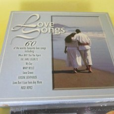 CDs de Música: TRES CDS-60 CANCIONES DE AMOR-LOVE SONGS 60-TIME MUSIC-NUEVOS. Lote 52676890