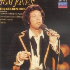 CDs de Música: TOM JONES - THE GOLDEN HITS CD. Lote 52699132