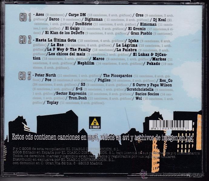CDs de Música: MP3 Rap - Segunda entrega, 500 canciones - 3 CDs - Foto 2 - 52707380