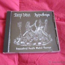 CDs de Música: DEEP VEIN / HYPOKRAS - SPLIT CD NUEVO - DEATH METAL. Lote 52717367