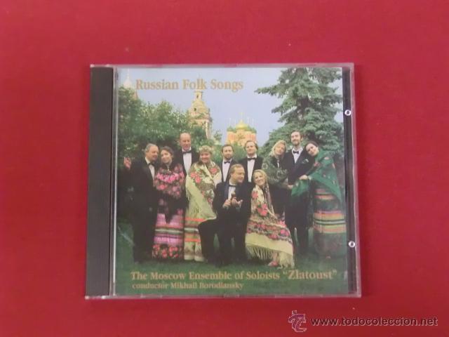 RUSSIAN FOLK SONG - THE MOSCOW ENSEMBLE OF SOLOIST ZLATOUST (Música - CD's World Music)