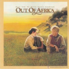 CDs de Música: OUT OF AFRICA - BANDA SONORA ORIGINAL. Lote 52740213