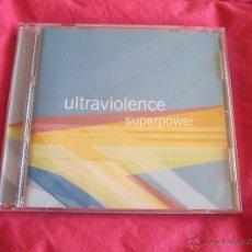 CDs de Música: ULTRAVIOLENCE - SUPERPOWER CD - TECHNO GABBER INDUSTRIAL. Lote 52753980