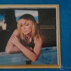 CDs de Música: CD PROMO RARO MARTA SANCHEZ NO TE QUIERO MAS. Lote 52761525