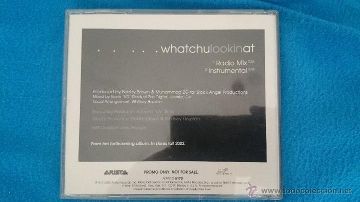 CDs de Música: CD PROMO WHITNEY HOUSTON WHATCHULOOKINAT - Foto 2 - 52761602
