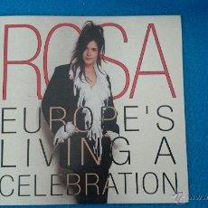 CDs de Música: CD PROMO EUROVISION ROSA EUROPE,S LIVING A CELEBRATION. Lote 105650707