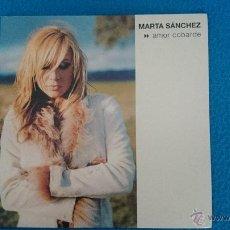 CDs de Música: CD PROMO RARO MARTA SANCHEZ AMOR COBARDE. Lote 52761820