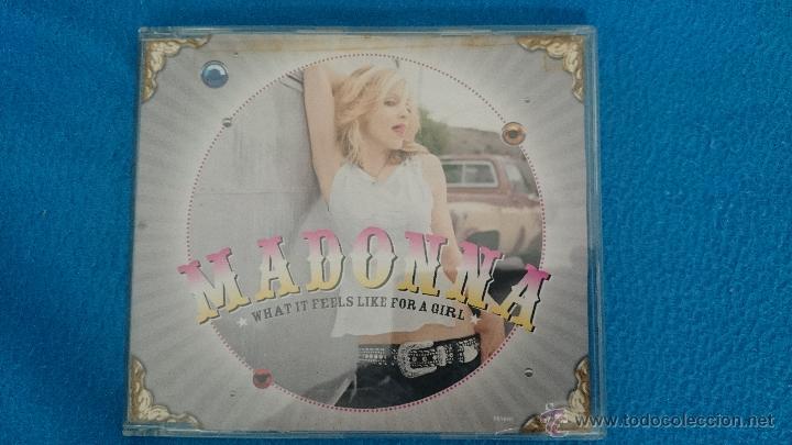 CD SINGLE RARO PROMO MADONNA WHAT IT FEELS LIKE FOR A GIRL (Música - CD's Pop)