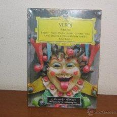 CDs de Música: KUBELIK 2CD BOX SET RIGOLETTO DE VERDI (SCOTTO & FISCHER-DIESKAU) NUEVO PRECINTADO ESPAÑA 2007. Lote 52763016