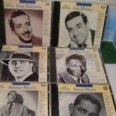 CDs de Música: LOTE 6 CD CANCION ESPAÑOLA DE LOS CINCUENTA Y SESENTA. NUEVOS DESPRECINTADOS.MACHIN GARDEL SEPULVEDA. Lote 52771276
