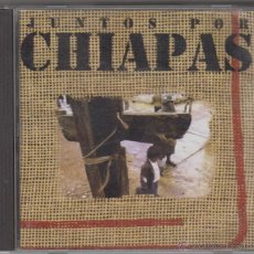 CDs de Música: JUNTOS POR CHIAPAS CD ANDRÉS CALAMARO FITO PÁEZ LEÓN GIECO CHARLY GARCÍA 1997. Lote 52772118