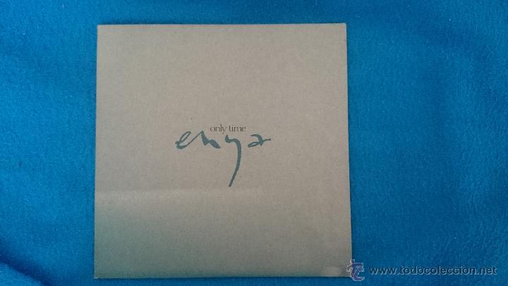 CD SINGLE PROMO ENYA ONLY TIME (Música - CD's Pop)