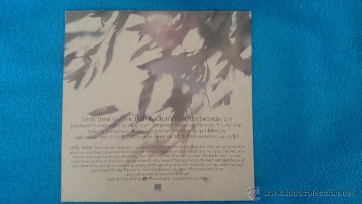 CDs de Música: CD SINGLE PROMO ENYA ONLY TIME - Foto 2 - 52781396