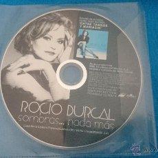 CDs de Música: CD SINGLE RARO PROMO RADIO ROCIO DURCAL SOMBRAS NADA MAS. Lote 92736849