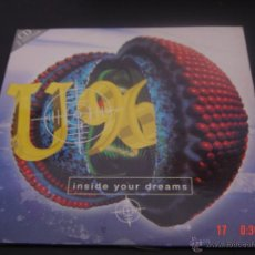 CDs de Música: U96. INSIDE YOUR DREAMS. CD SINGLE.. Lote 52793268