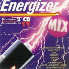 CDs de Música: ENERGIZER MIX - DOBLE CD DEL AÑO 1996. Lote 52822559