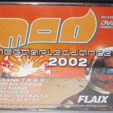 CDs de Música: MEGAAPLEC DANCE 2002 MAD - 2 CD + 1 DVD CON LAS MEJORES IMAGENES DEL MEGAAPLEC 2001 NUEVO PRECINTADO. Lote 52862510