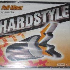 CDs de Música: FULL EFFECT PRESENTS HARDSTYLE - DJ RAY & TOM HAFMAN - 3 CD - TEMPO MUSIC - NUEVO Y PRECINTADO. Lote 52862668