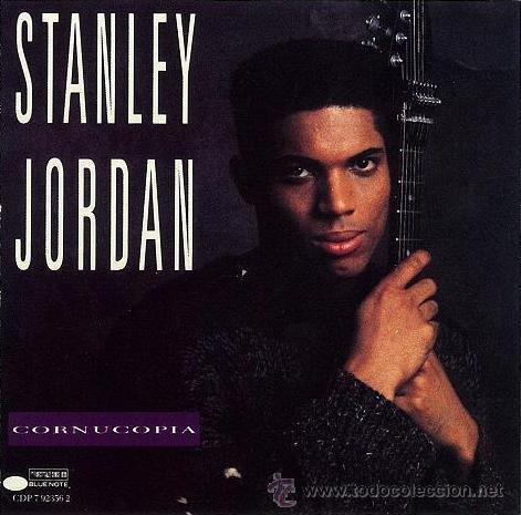 STANLEY JORDAN - CORNUCOPIA 1990, BLUE NOTE !! KENNY KIRKLAND, JEFF WATTS,.. GREAT GUITAR !!!!! (Música - CD's Jazz, Blues, Soul y Gospel)