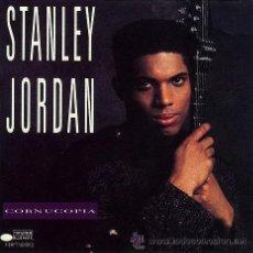 CDs de Música: STANLEY JORDAN - CORNUCOPIA 1990, BLUE NOTE !! KENNY KIRKLAND, JEFF WATTS,.. GREAT GUITAR !!!!!. Lote 52867795