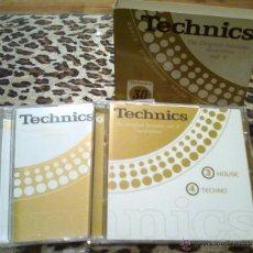 CDs de Música - technics - the original sesions (special edition) vol. V - 4 cds - 52887249