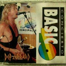 CDs de Música: DEF LEPPARD.TWO STEPS BEHIND...EDIT + ACUSTICO...CD SINGLE PROMO 40 PRINCIPALES. Lote 52896248
