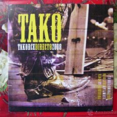 CDs de Música: TAKO.TAKORCE DIRECTO 2008.CD SINGLE...PROMO...ARAGON..3 TEMAS AUDIO + 2 VIDEOS...PEDIDO MINIMO 5€. Lote 60219282