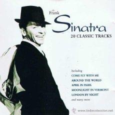 CDs de Música: CD FRANK SINATRA - 20 CLASSIC TRACKS. Lote 52904892