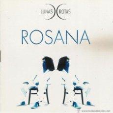 CDs de Música: ROSANA - LUNAS ROTAS - CD. Lote 52910802
