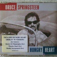 CDs de Música: BRUCE SPRINGSTEEN.HUNGRY HEART ALBUM VERSION + VERSION BERLIN 95.....CD SINGLE. Lote 52915693