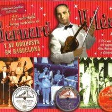 CDs de Música: TRIPLE CD EL INOLVIDABLE SWING MELODICO DE BERNARD HILDA Y SU ORQUESTA EN BARCELONA. Lote 52924722