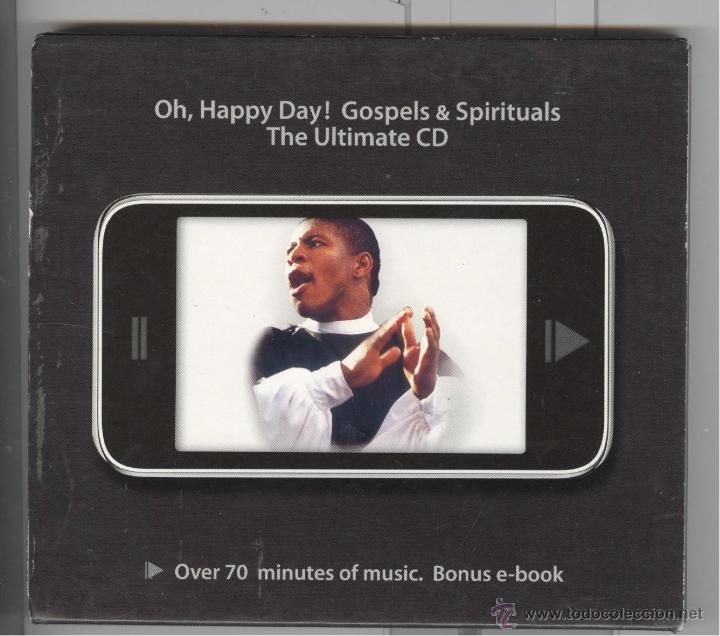 OH. HAPPY DAY. GOSPELS & SPIRITUALS. 22 TEMAS. NUEVO (Música - CD's Jazz, Blues, Soul y Gospel)