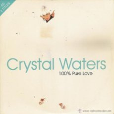 CDs de Música: CRYSTAL WATERS - 100 % PURE LOVE - CD SINGLE CARTON. Lote 52938443