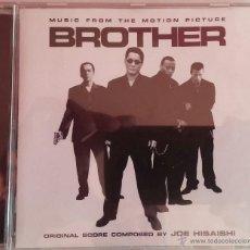 CDs de Música: BROTHER - JOE HISAISHI - PRECINTADO - CD BSO / OST / BANDA SONORA / SOUNDTRACK - TAKESHI KITANO. Lote 52942247