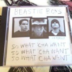 CDs de Música: BEASTIE BOYS - SO WHAT´ CHA WANT - CD SINGLE - 7 TRACKS - CAPITOL - GRAN ROYAL - 1992. Lote 52946075