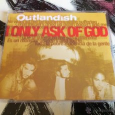 CDs de Música: OUTLANDISH - I ONLY ASK OF GOD - CD SINGLE - PROMO - SONY - 2006. Lote 52946187