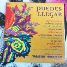 CDs de Música: PUEDES LLEGAR - GLORIA ESTEFAN - CD SINGLE - PROMO - VOCES UNIDAS - EMI - 1996. Lote 52954178