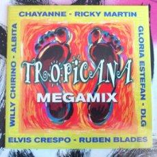 CDs de Música: TROPICANA - MEGAMIX - CD SINGLE - PROMO - SONY - 1999. Lote 52954200