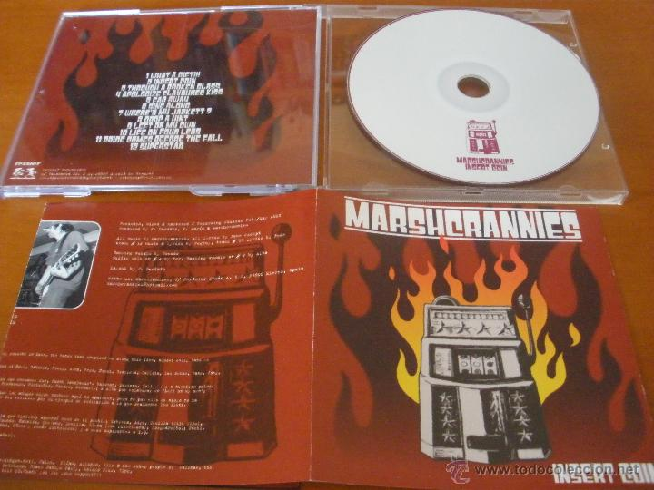 MARSHCRANNIES I. COIN 2003 TPZSHIT REC MELODIC HARDCORE SPAIN (Música - CD's Heavy Metal)