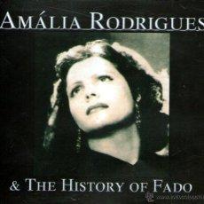 CDs de Música: QUÍNTUPLE CD ALBUM / 5 CDS: AMÁLIA RODRIGUES & THE HISTORY OF FADO - RECORDING ARTS 2006. Lote 261934915