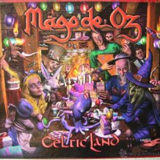 CDs de Música: MAGO DE OZ.CELTIC LAND...DOBLE CD... HEAVY-FOLK METAL MADRID...COMO NUEVO. Lote 52998152
