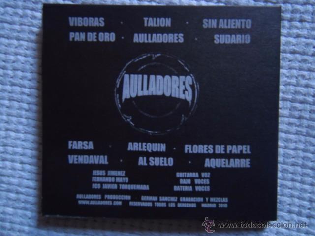 CDs de Música: AULLADORES - AULLADORES CD + INNER - Foto 3 - 58406171