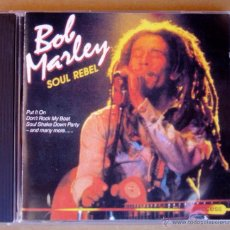 CDs de Música: BOB MARLEY - SOUL REBEL (CD) SUCCESS 1993. Lote 53018489
